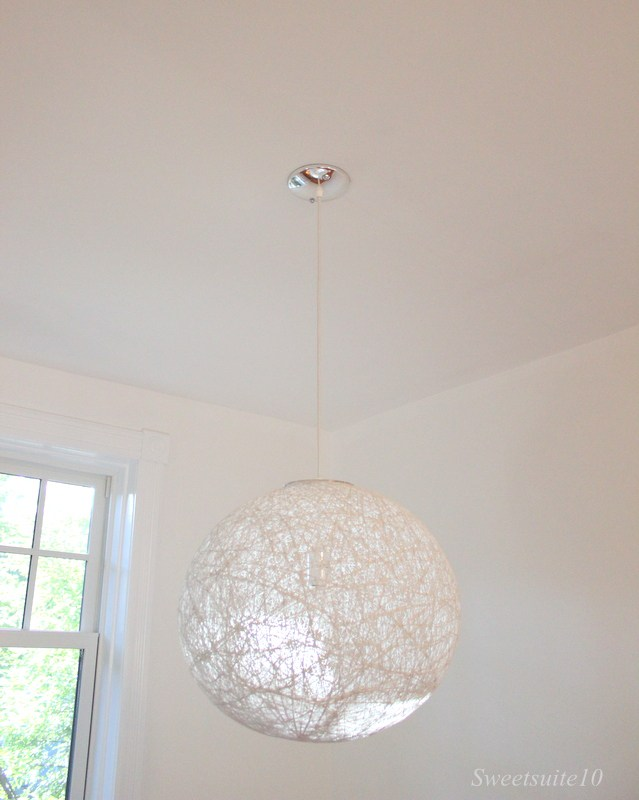 New string light fixture