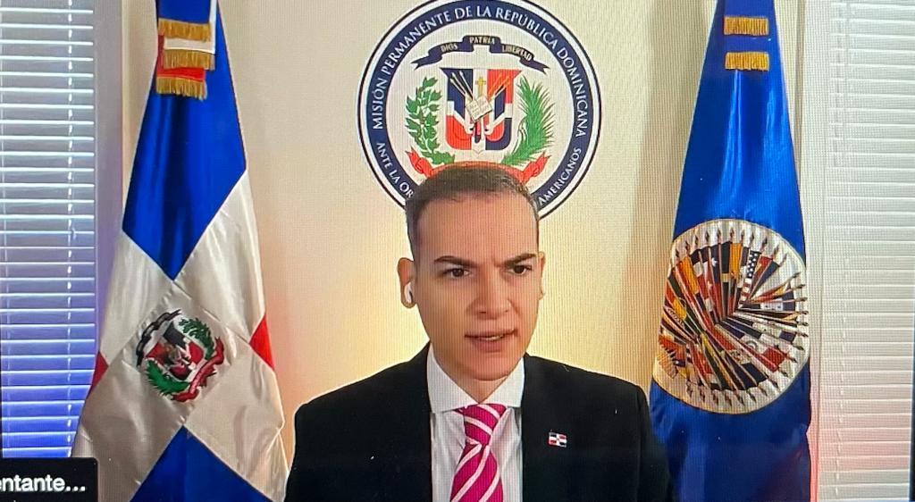 RD es electa presidente de la Comisión de Asuntos Jurídicos y Políticos de  la OEA
