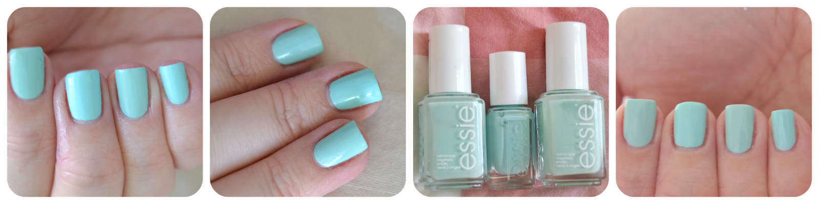 Blossom Dandy vs. Mint Candy Apple Vergleich Swatch MCA LE Flowerista
