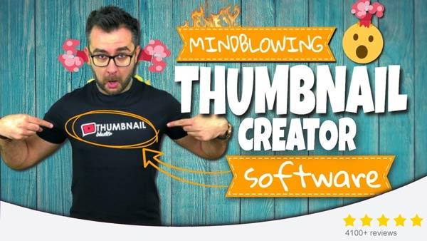 Thumbnail Blaster: Best Online YouTube Thumbnail Maker using A.I.