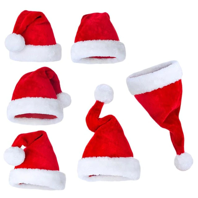 Christmas Hats Caps Santa Claus Xmas Cotton Cap, ruperhat.com