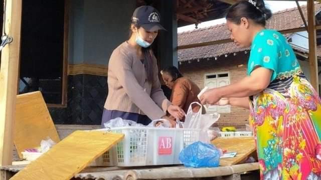 Viral Penjual Sayur Cantik Via Asal Dukuhseti, Banyak Yang Kagum