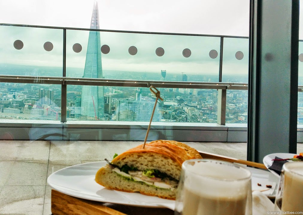 sky pod bar london breakfast | London Rooftop Garden | Breakfast In London's Sky Pod