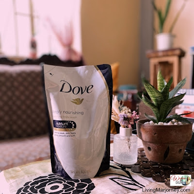 BUNDLE Dove Deeply Nourishing Body Wash 1L With 650ml