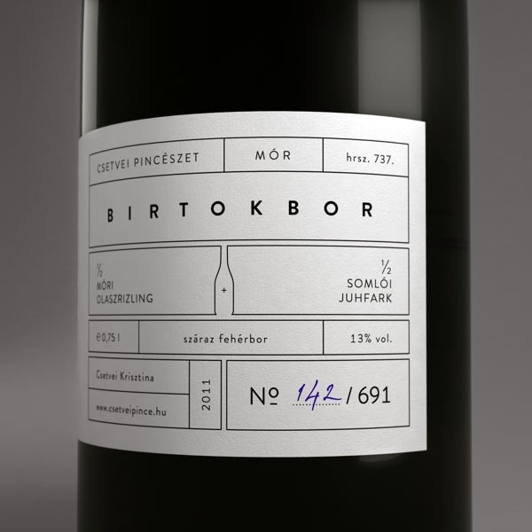 It is a picture of Intrepid Wine Label Design Inspiration