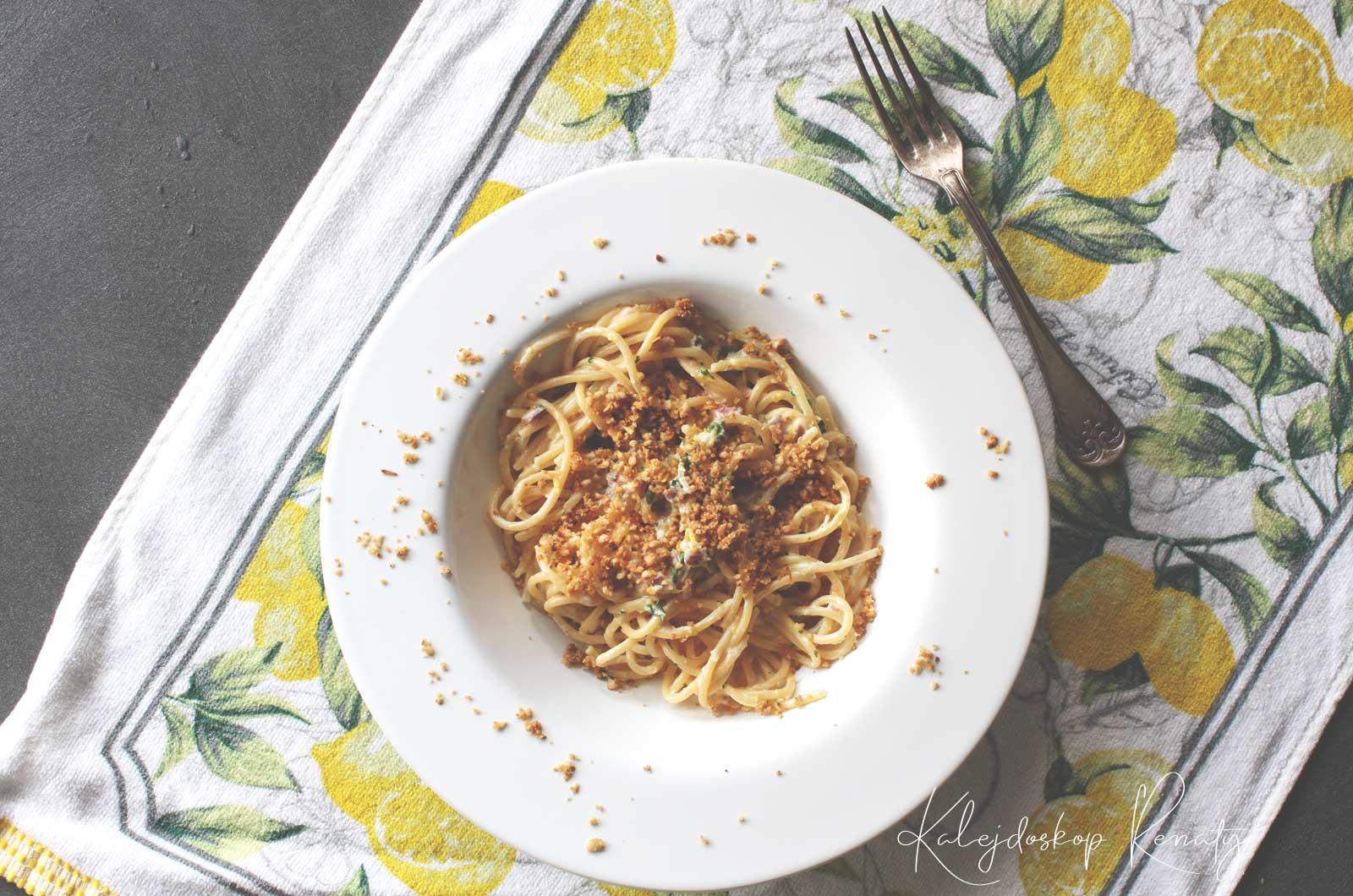 Makaron z cytryną i kolendrą — bezapelacyjnie najlepszy przepis na makaron z cytryną!