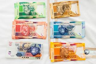 Südafrikanischer Rand ZAR Währung