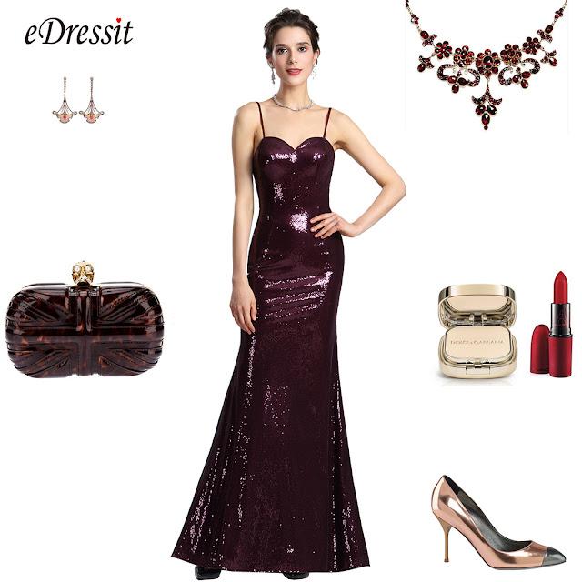 spaghetti sequin prom dress formal wear