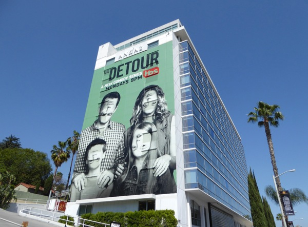 The Detour giant series premiere billboard