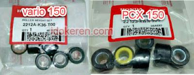 Roller vario 150 dan PCX 150