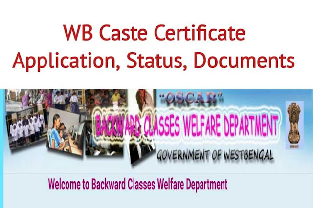 WB caste certificate