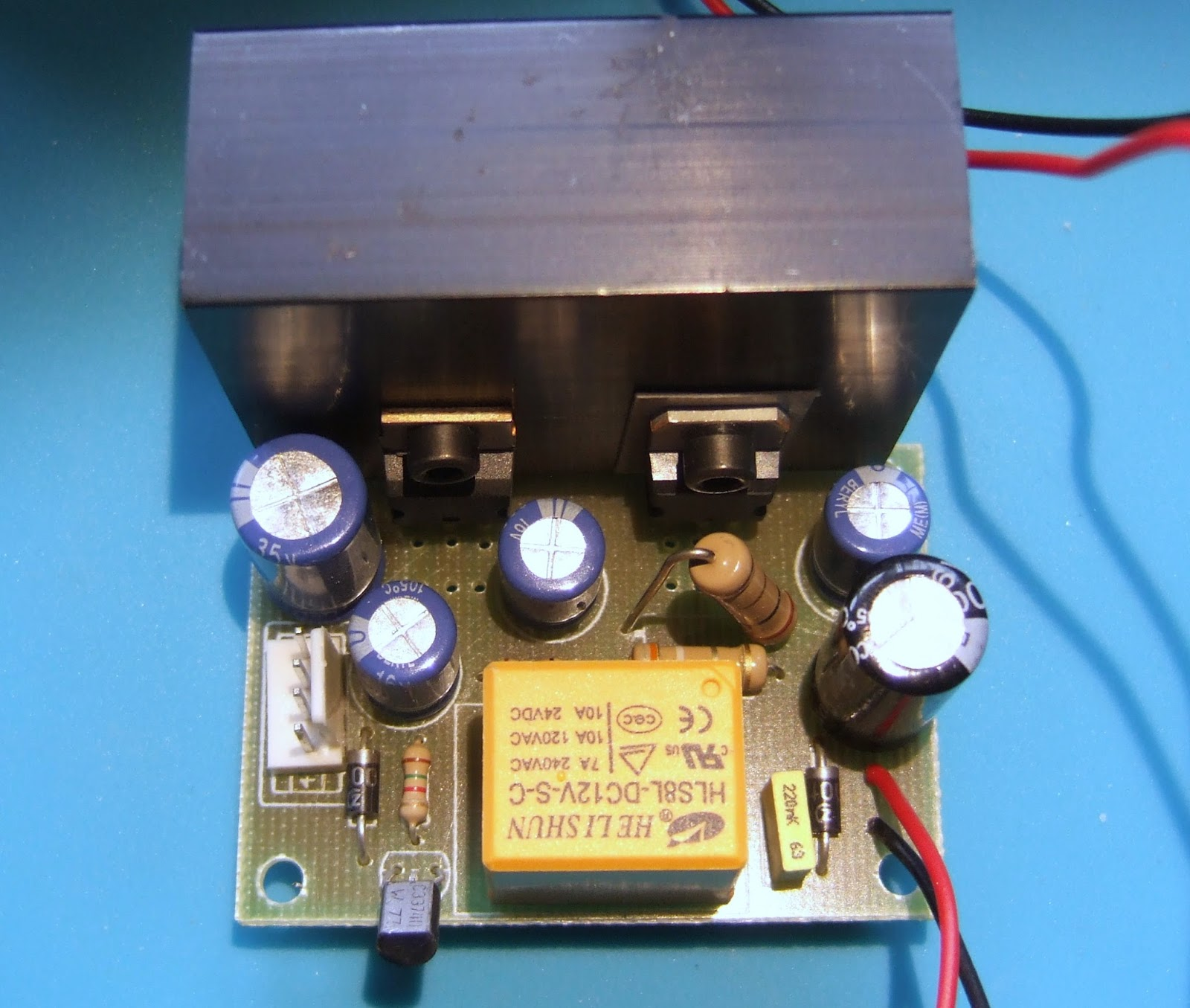 Hydraraptor August 2017 The Transistor In A Century Of Electronics It Is All Bit Last With Through Hole Components And Relay I Looked At Switching Waveform Found That Added An 82ms Delay