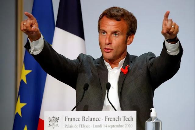 Ο Μακρόν δείχνει τις ηγετικές του ικανότητες στην Ευρώπη