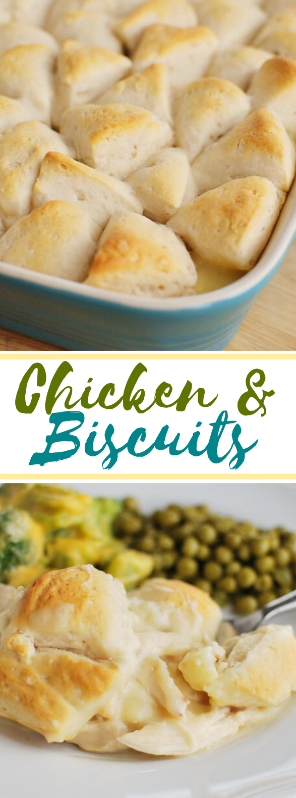 Chicken and Biscuits #dinner #familyrecipes