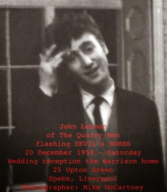 12 20 1958 John Lennon Testifies With New Satanic Corna Hairdo