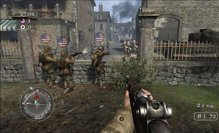 Download game: download call of duty demo 2.