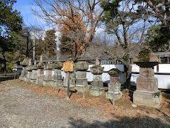 松代藩重臣の供養塔