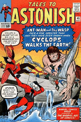 Tales to Astonish #46, Ant-Man, the Wasp and Cyclops
