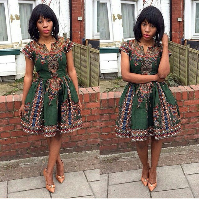 Simple Ankara Short Gown Styles For Ladies Simple Ankara Short Gown