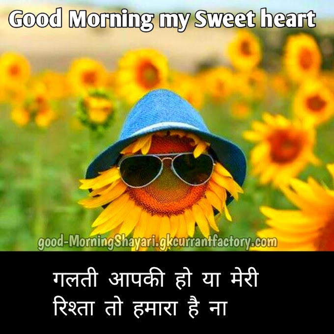 Good Morning Shayari in Hindi | गुड मॉर्निंग शायरी with images