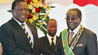 ZIMBABWE NEW PRESIDENT SWORN-IN