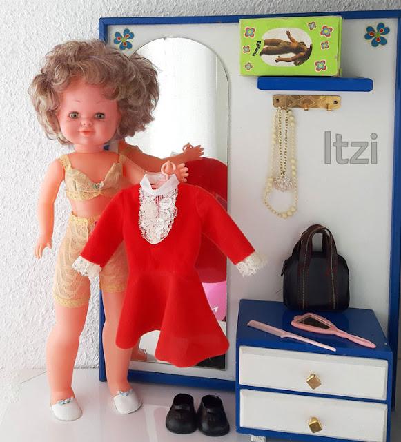 Muñeca Bambinela de Esvi, conjunto Fantasía Nancy
