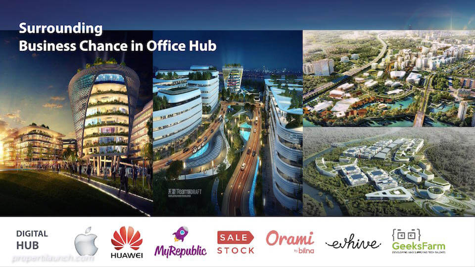 Digital Hub BSD City