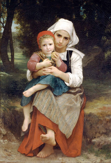 Адольф Вильям Бугро - Брат и сестра (1871)