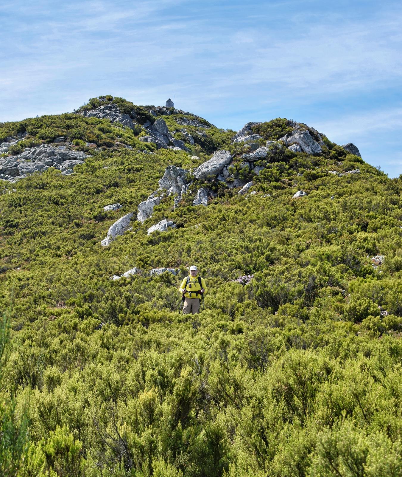 descenso desde el pico horru