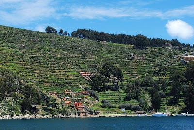 Isla del Sol, Lago Titicaca Bolivia, Lado boliviano Lago Titicaca