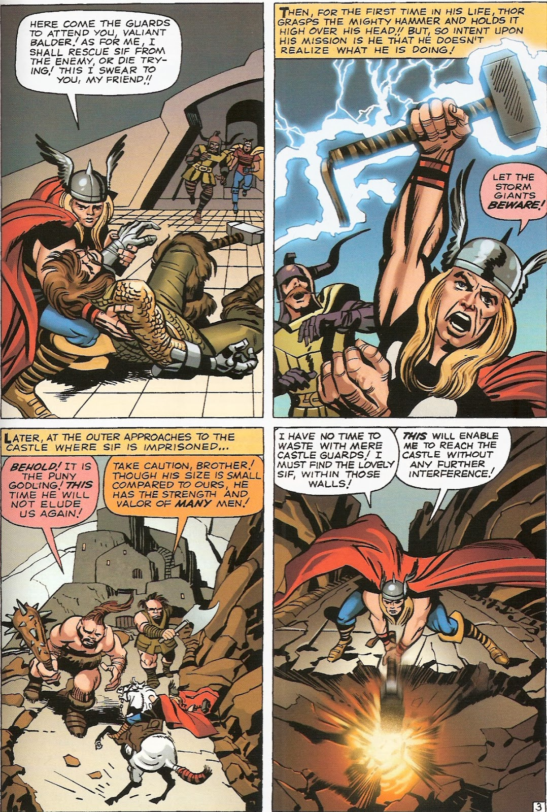 Bronze Age Babies: Tales of Asgard: Journey Into Mystery 102