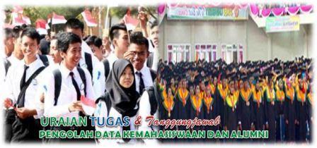 Tugas Pengolah Data Kemahasiswaan dan Alumni