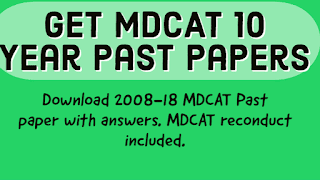 mdcat past papers pdf download