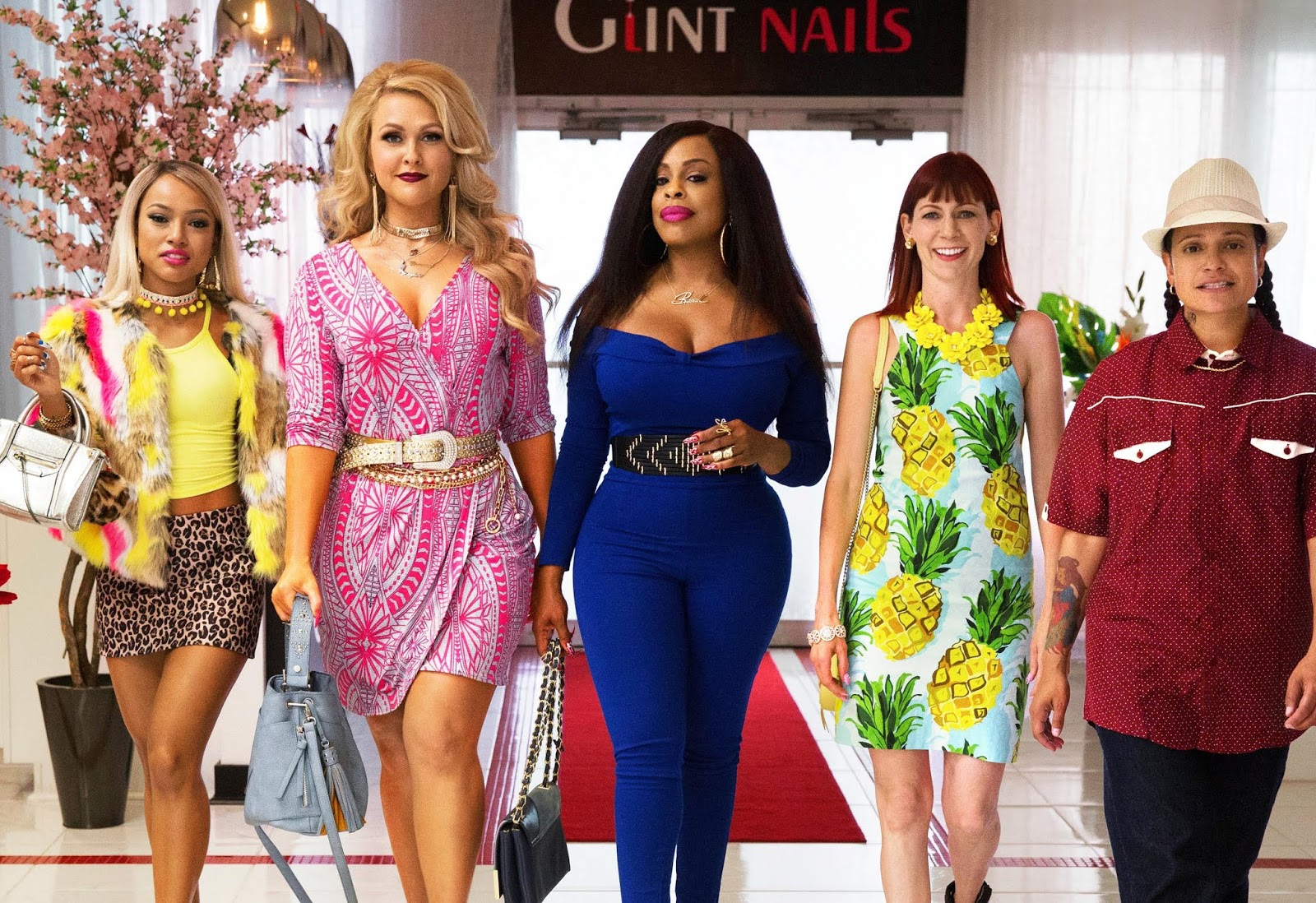 Desna, Polly, Virginia, Jennifer y Quiet Ann, en una foto promocional de Claws