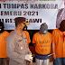 Operasi Tumpas Narkoba Semeru 2021 : Satresnarkoba Polres Ngawi Ungkap 4 Kasus Tindak Pidana Narkoba Dengan 10 Tersangka