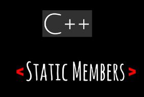 Membros estáticos de instância em C++