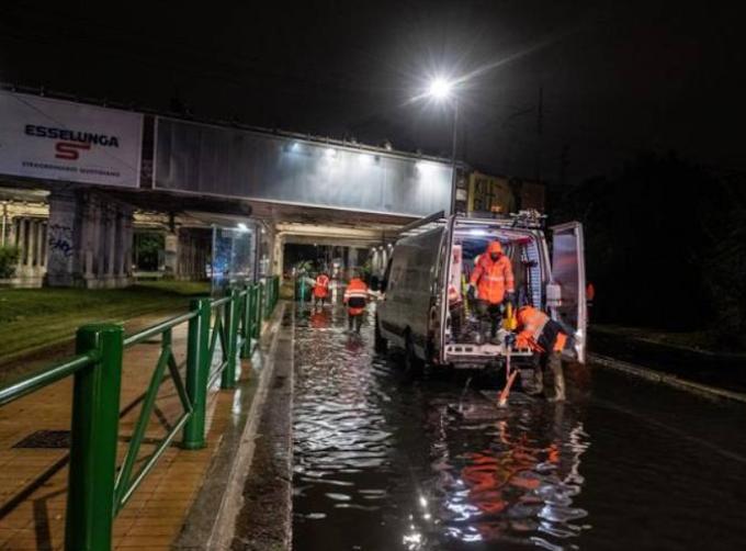 3BMeteo: ''Italia tra nubifragi e caldo record, a Milano in una notte la pioggia di un mese''