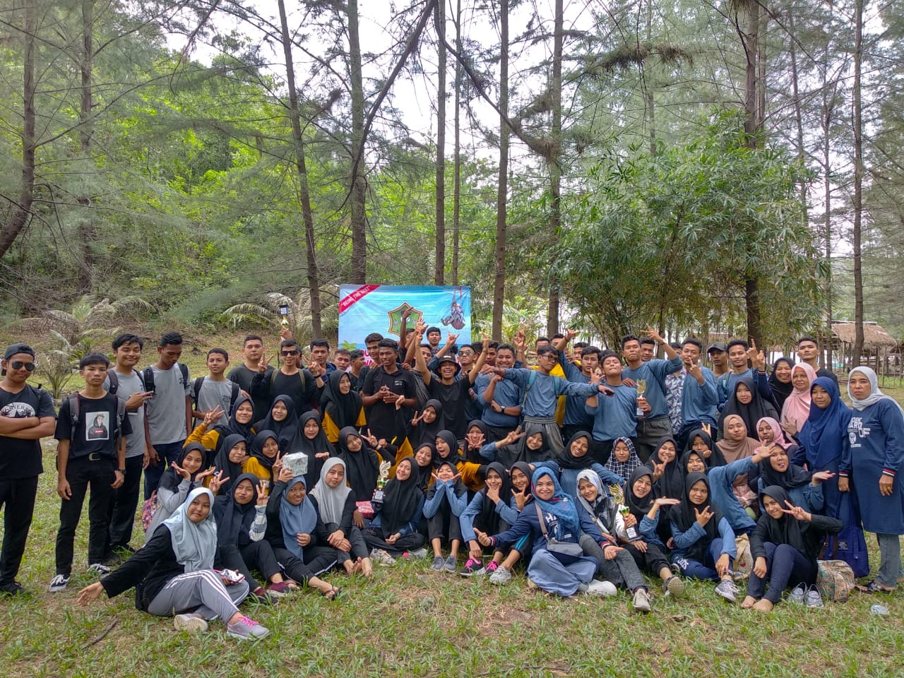 Jelang Un 2020 Siswa Sman 6 Banda Aceh Ikuti Outingplus Potret Online