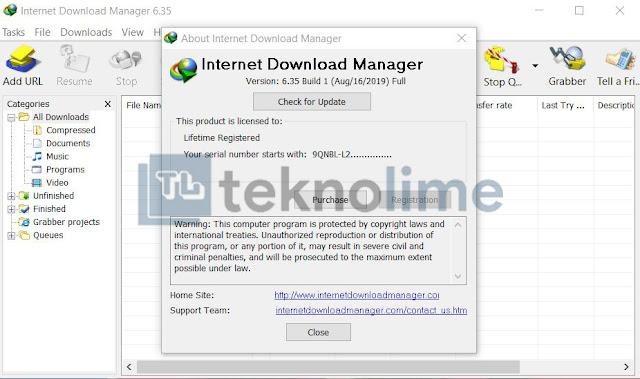 Internet Download Manager 6.35 Build 1 Full Version