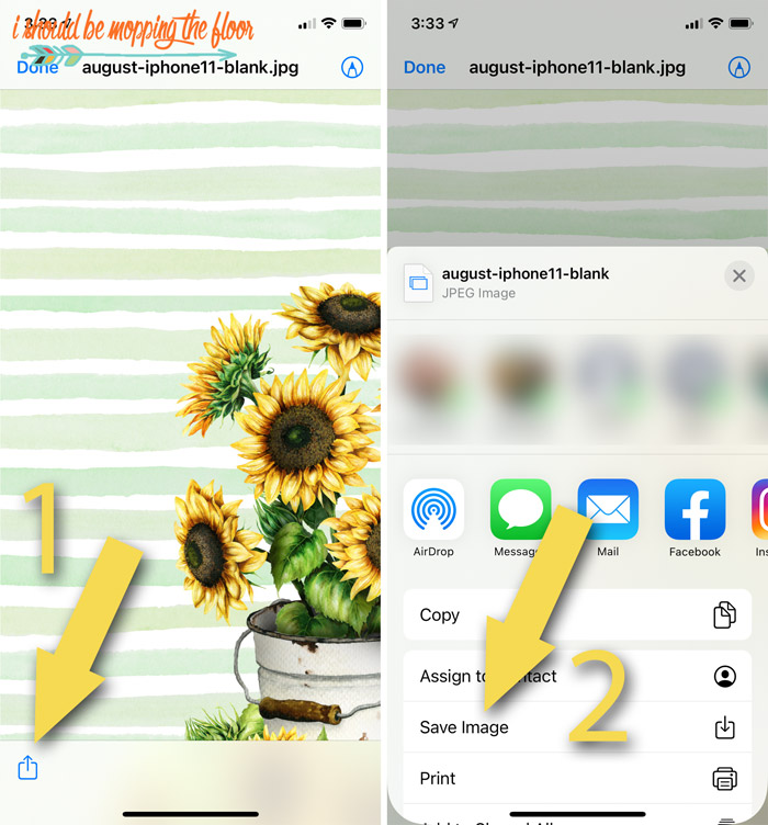 How to Install Sunflower Wallpaper