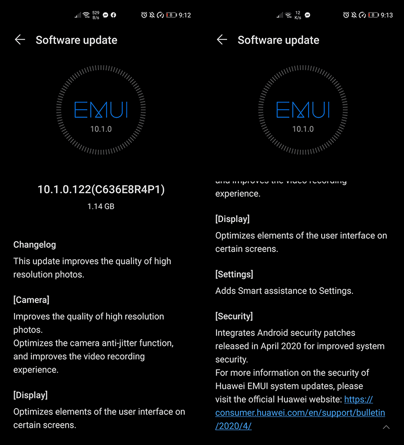 With Android security patch
