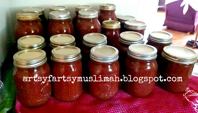 Self Sufficiency and the Muslim Life by Artsyfartsymuslimah.blogspot.com