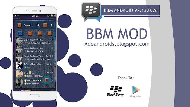 BBM MOD Droid Chat! v8.4.13 Blue Jeans Apk Terbaru