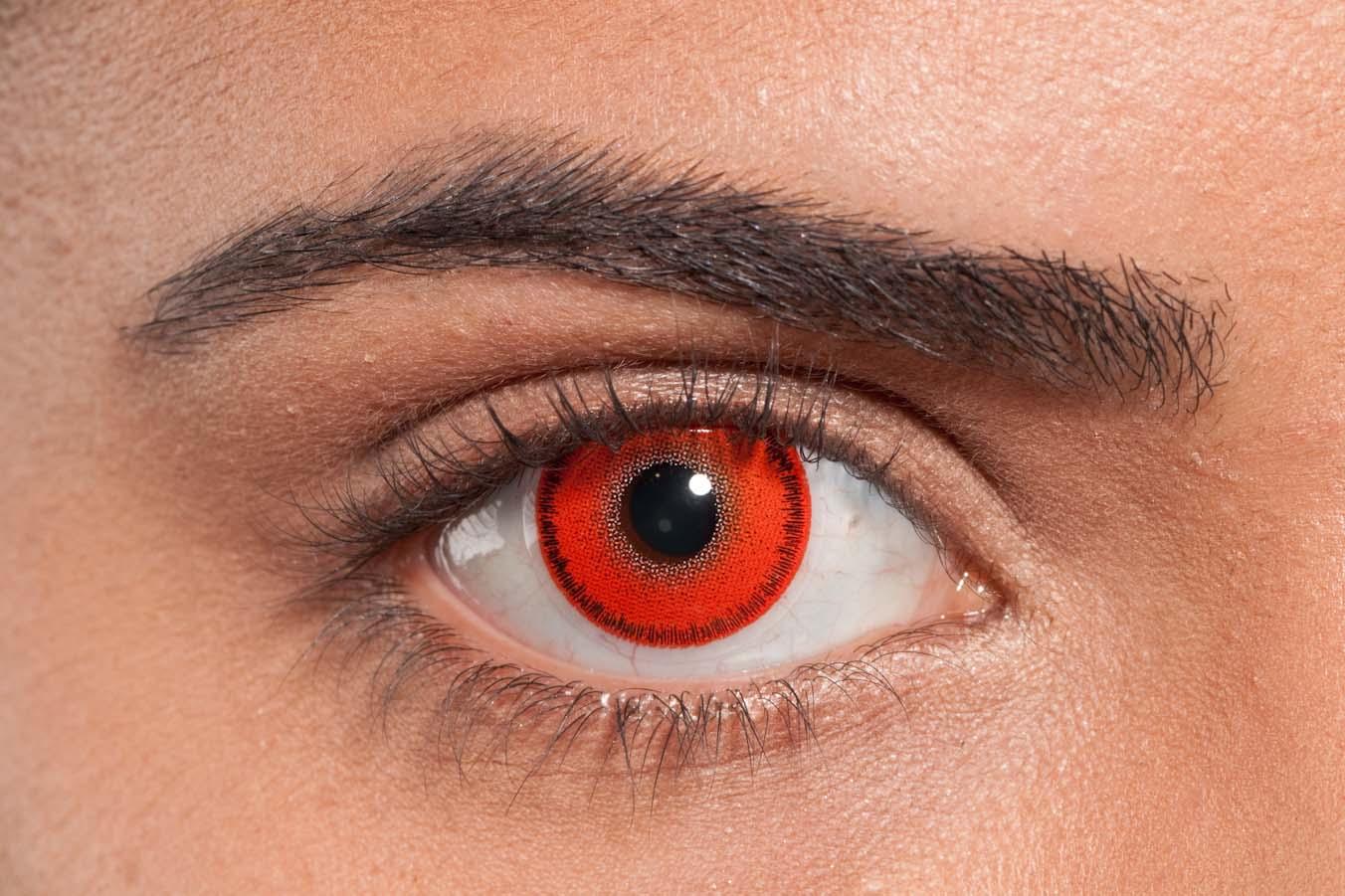 6159e56a54295 comprar Lente de contato vermelha baratas cosplay entregamos em curitiba