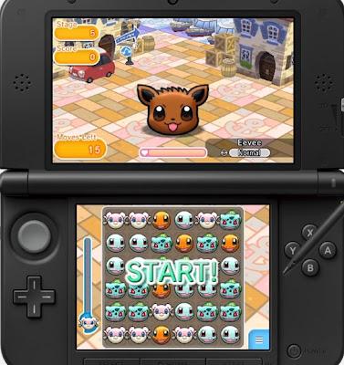 Pokémon Shuffle Batalha e Captura