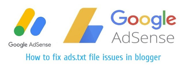 How to fix ads.txt file issues in blogger.