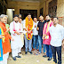 भाजपा एनजीओ प्रकोष्ठ के जिला संयोजक का हुआ भव्य स्वागत