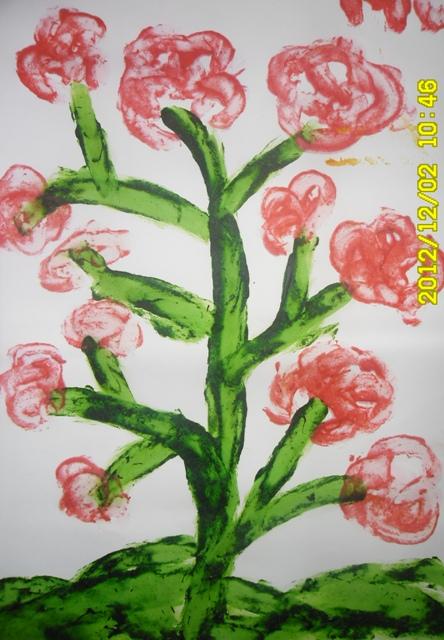 Mega Wullands Finger Painting