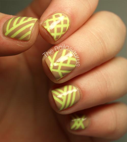 Can I See Your Neon Bits? - The Nailasaurus | UK Nail Art Blog