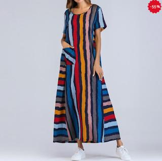 https://www.neer.ro/products/rochie-larga-cu-maneca-lunca-pentru-femei-cu-imprimeu-de-dungi-colorate-%C8%99i-decolteu-rotund